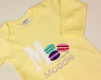 M is for... Personalized Name Onesie