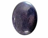 40x30mm gemstone diy wire wrapped jewelry Flat Back Blue Goldstone loose gem stone Cabochon 675x