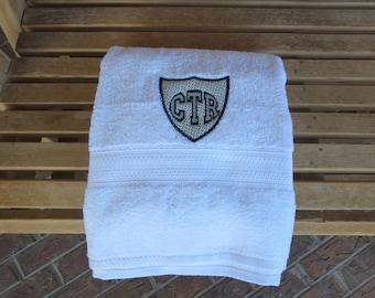 CTR White Towel - Applique
