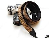 Ready to ship -  Best camera strap for DSLR -Golden sand