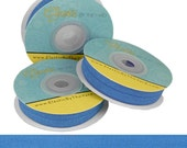 """Pacific Blue - Fold Over Elastic  - Solid FOE - 5/8"""" Wide - 5 Wholesale Yards"""
