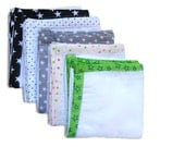Swaddle Wrap, Muslin Burp Cloth, Cotton Gauze Muslin square, Security Blanket