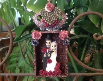 Day of the Dead Wedding Nicho/Shrine