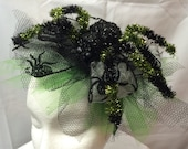 Spider Web Fascinator