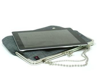 Ipad case - Grey Nickel - Duchess Case for iPad