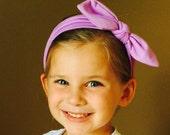 Boutique Baby Top Knot Lavender Headband Easter Headband Top knot Headband Purple Headband Turban Headband Twisted Knot Headband