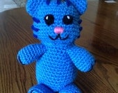 Crochet Tigey from Daniel Tiger's Neighborhood, Made to Order