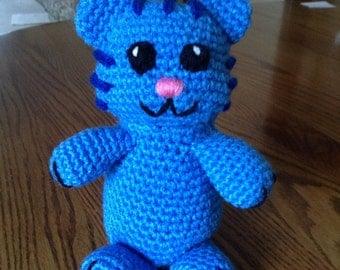 Crochet Tigey from Daniel Tiger's Neighborhood, Made to Order
