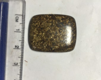 Square Bronzite Polished Cabochon