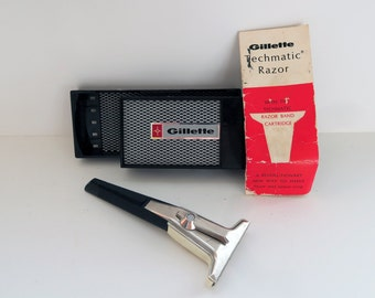 60s Tech Gillette Techmatic Razor