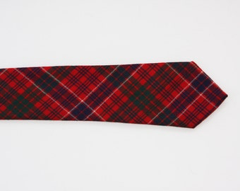 A Real Scotch Plaid Tie