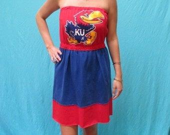 Kansas University Game Day Dress - Jayhawks Apparel