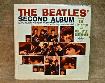 The Beatles - The Beatles' Second Album - 1964 Vintage Vinyl Record Album...