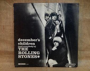 The ROLLING STONES - December's Children - 1966 Vintage Vinyl Record Album