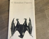 Bat Tea Towel - Halloween - Vampire - Gothic