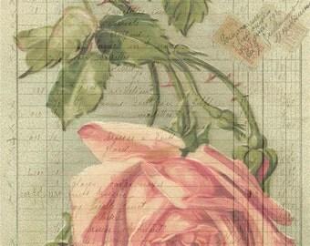 BOT49 - 11x17 Artist Print - Scrapbooking - Decoupage