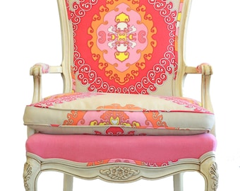 Paradise Punch Upholstered Armchair