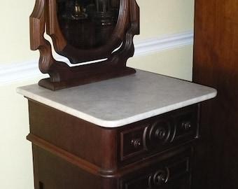 Victorian Renaissance Revival Shaving Stand