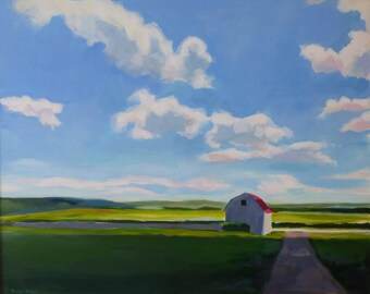 Farm - original painting