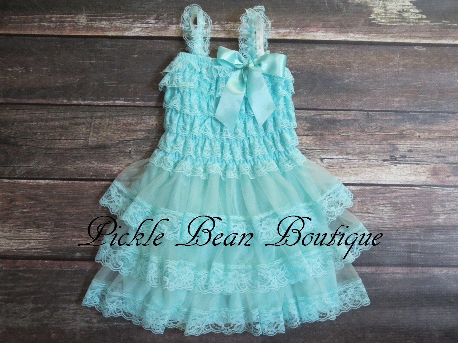 Rustic Flower Girl Dress Baby Dress Party Dress Baby