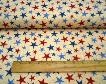 Ironwood Ranch Stars on Tan premium cotton fabric from Wilmington Prints