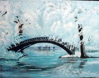 Japan Winter Bridge