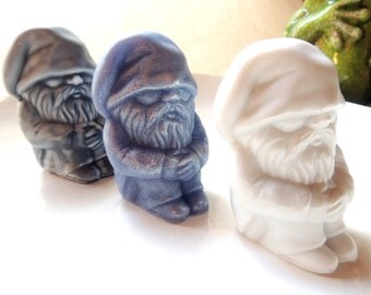 GNOME SOAP, SLEEPING Old Man Gnome, Novelty Soap, Party Favor Soap, Custom Scented, Custom Colored