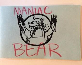 Maniac Bear - Minicomic by Joe Kuth