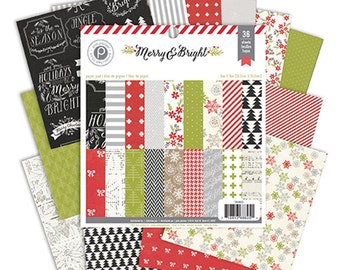 6x6 Paper Pack from Pink Paislee - Merry & Bright