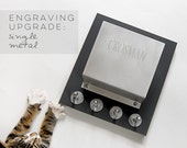 Single ENGRAVING upgrade for mail holders: customize, personalize it