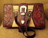 Belt Buckle Shoulder Bag
