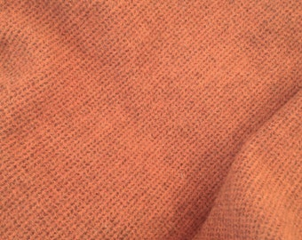 Wool Fabric for Rug Hooking and Applique, Fat Quarter Yard, Pumpkin Patch, J959