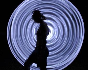 Halo LED hoop, by Moodhoops