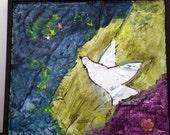 Folk Art Painting Mixed Media