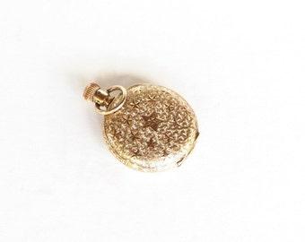 Antique Elgin Pocket Watch Hunters Case Gold Filled Victorian Pocket Watch 1800s
