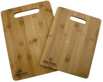 Engraved Cutting Board 2-Piece Set - Totally Bamboo Engraved Cutting Boards -Engraved Wedding Cutting Board - Personalized Housewarming Gift