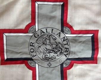 Vintage Flag of Malta