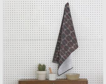 Charcoal Cemi Kitchen Towel