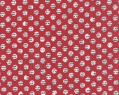 Holly's Tree Farm Gumdrops in Apple Red, Sweetwater, Moda Fabrics, 100% Cotton Fabric, 5586 12