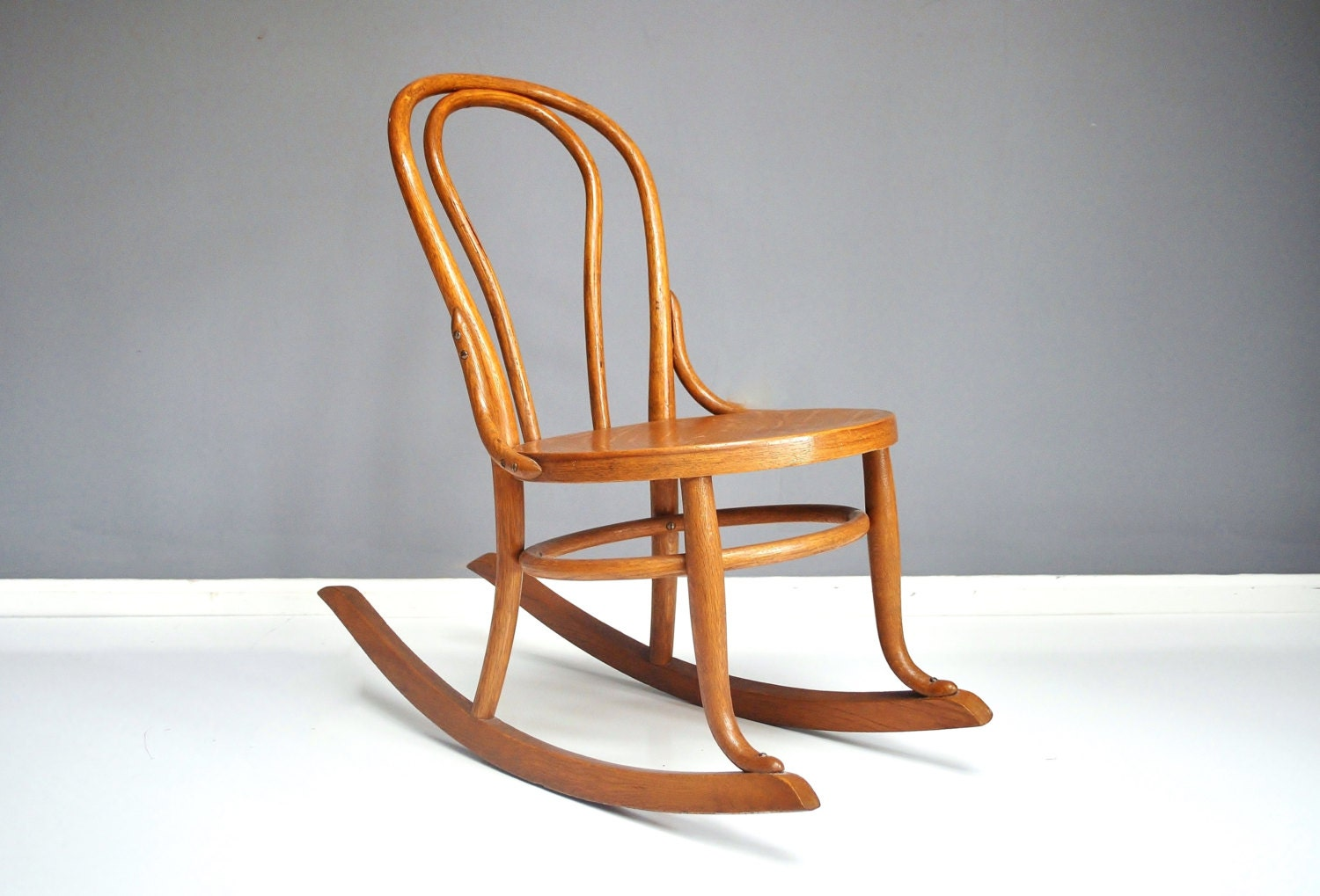 Vintage Bentwood Rocking Chair By Thewhitepepper On Etsy