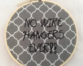 SUPER SALE Mommie Dearest Embroidery