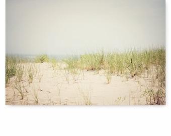 Beach photography, beach wall art, beach decor, beach grass print, ocean photography, ocean art, beach art print, beach house decor,
