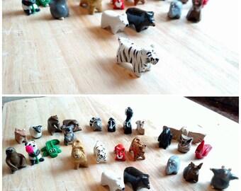 Miniature Animal Totem Mini Animal Figurine