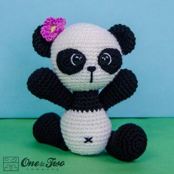 Tare Panda Amigurumi Crochet Pattern : Zhen the Panda Amigurumi - PDF Crochet Pattern - Instant ...