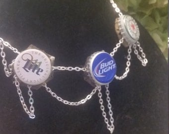 Beer Bottle Cap Necklace