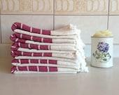 Premium Turkish Towel, Peshtemal, Bath and Beauty, Bath and Body, Hammam, for her, Bride gift, Wedding, Natural Linen, spa, yoga, Claret Red