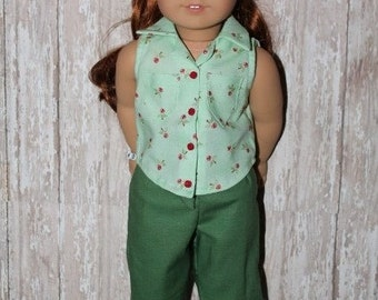 SALE American Girl Maryellen 1950s pedal pusher outfit