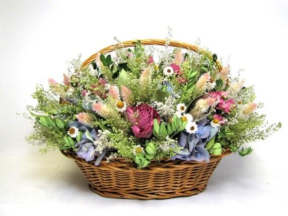 Dried Floral Arrangement Table Arrangement Floral