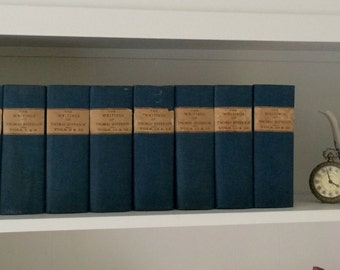 The Writings of Thomas Jefferson:  1904 20 Volumes in 10 Books, Lipscomb & Berg RARE