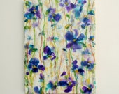 Original Encaustic Painting - Orchid Floral Abstract Painting - Encaustic Art - Flower Painting - KLynnsArt